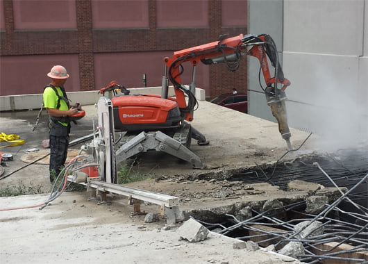 robotic demolition