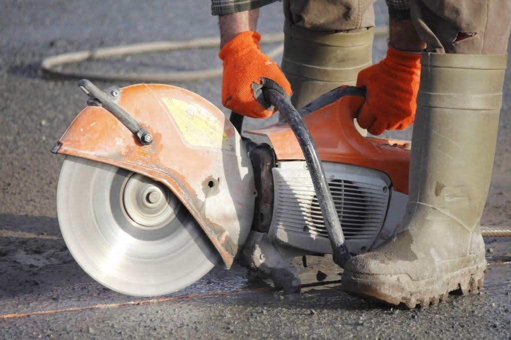 Concrete Demolition - Slab Wire Sawing - Houston TX - YouTube