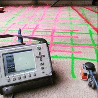 gpr - ground penetrating radar